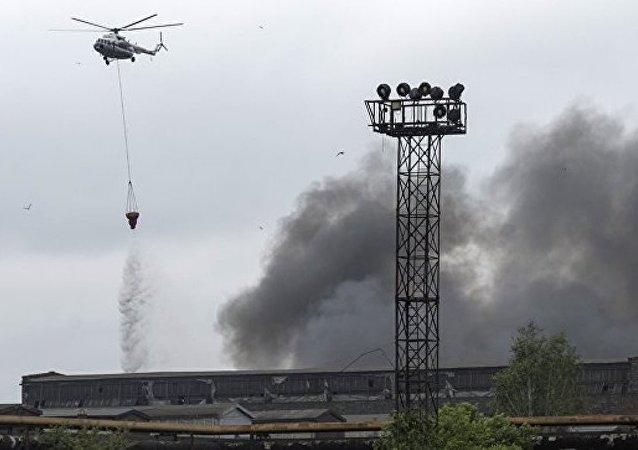 消息人士:聖彼得堡基洛夫工廠火災明火已被撲滅