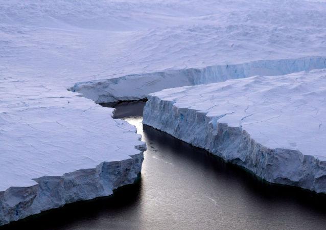 脫離南極的冰山體積僅為1980年測量體積的六分之一