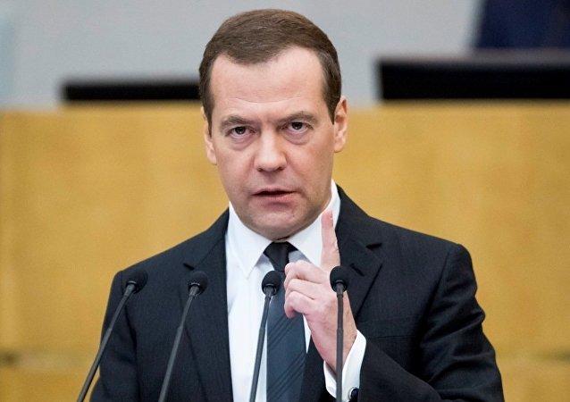 俄總理梅德韋傑夫德米特里