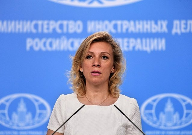 俄羅斯外交部發言人扎哈羅娃瑪麗亞