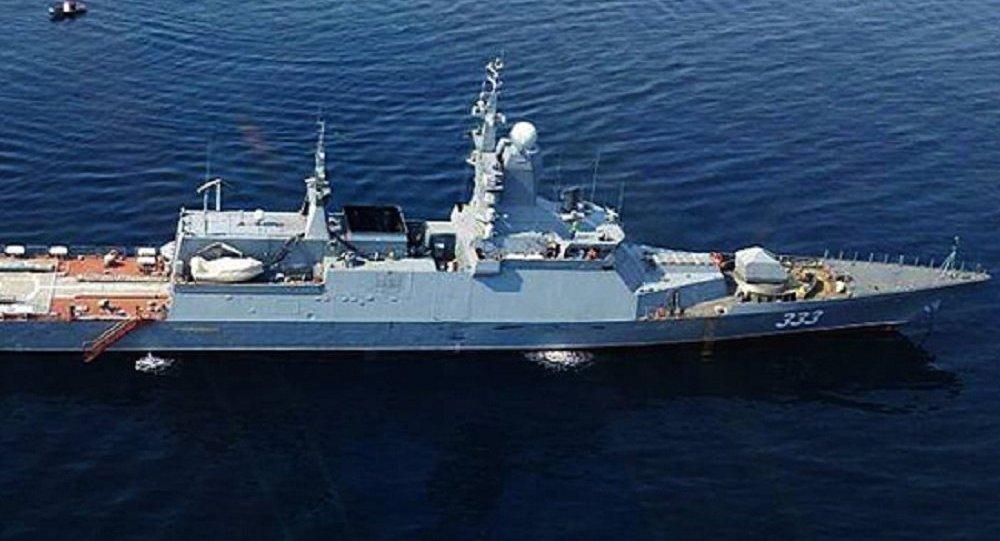 俄羅斯海軍「完美」號護衛艦