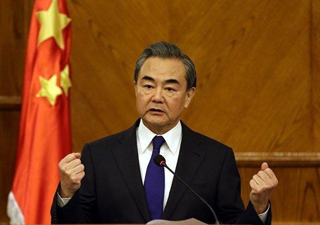 中國外長王毅
