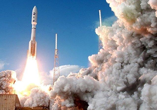 美國發射阿特拉斯5火箭搭載美軍X-37B太空戰機升空
