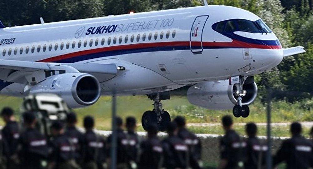 墨西哥英特捷特航空確認擬簽約採購10架SSJ100飛機
