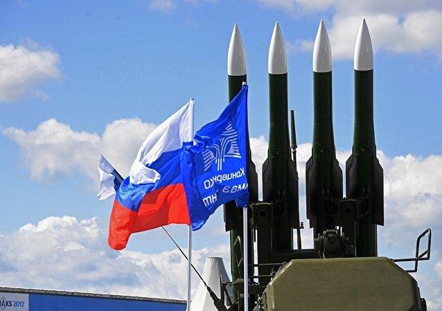 俄防空系統「 BUK-M2E」