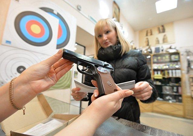 俄羅斯有430萬人合法持有武器