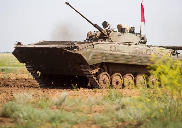 俄步兵戰車將在中國境內的軍事比賽中展示性能