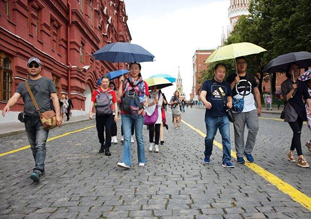 莫斯科和聖彼得堡2017年接待的免簽入境中國遊客同比增加32%
