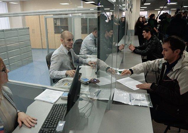 一個月內約600名烏茲別克公民根據移民協議赴俄務工