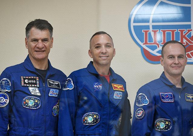 俄航天集團公司:「聯盟 MS-05」載人飛船週五飛赴國際空間站