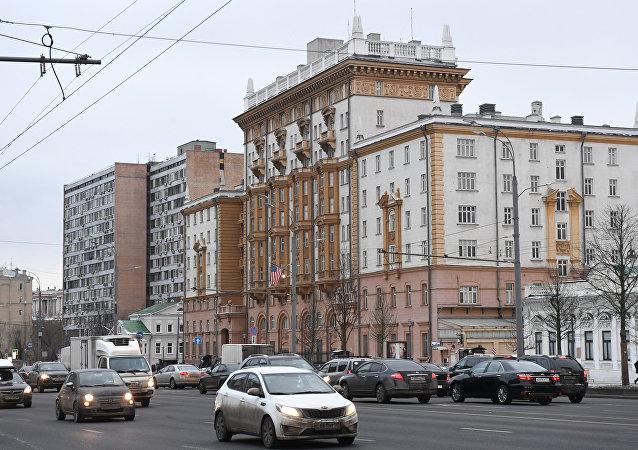 美國大使館在莫斯科