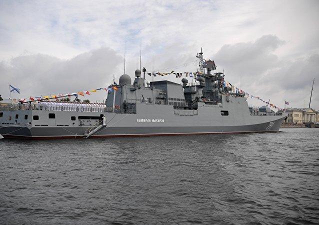 「馬卡羅夫海軍上將」號護衛艦
