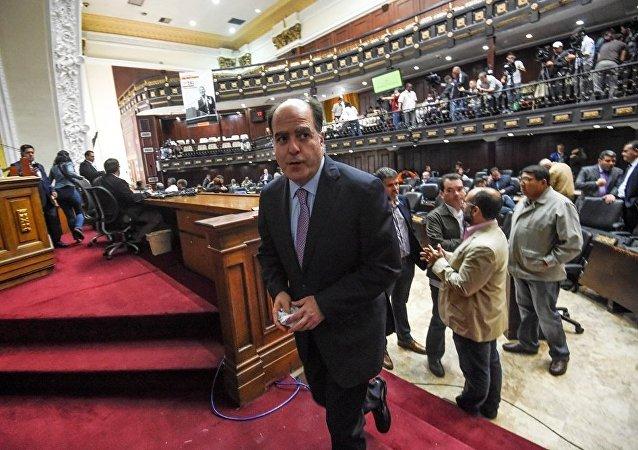 委內瑞拉國民警衛隊為給制憲大會警戒而佔領議會大廳