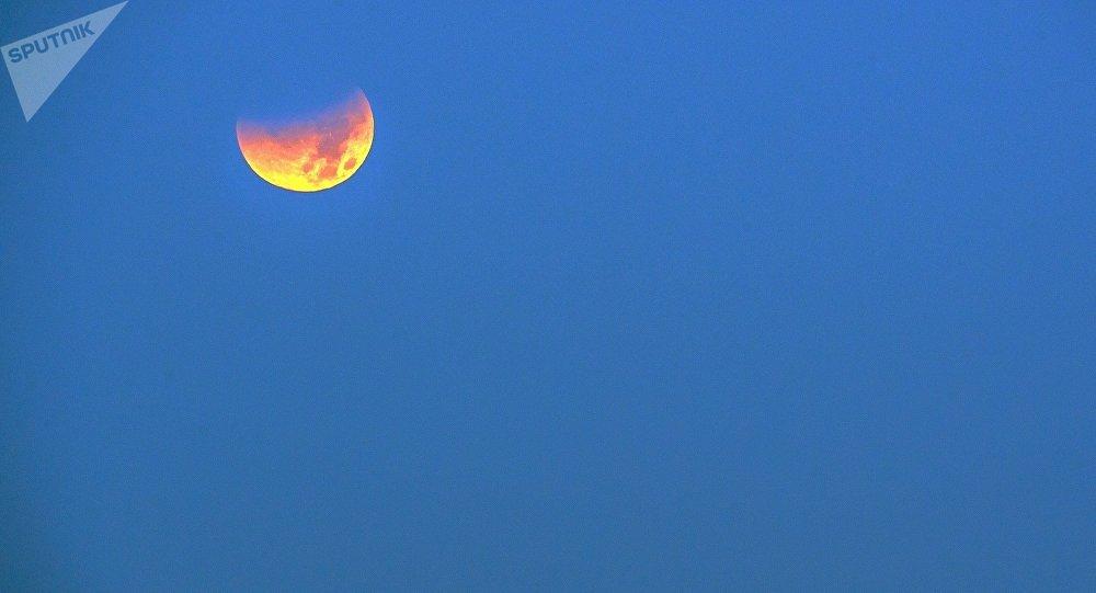 8月7日莫斯科將出現「血月」
