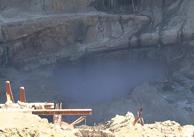 阿爾羅薩公司「和平」礦井發生透水事故