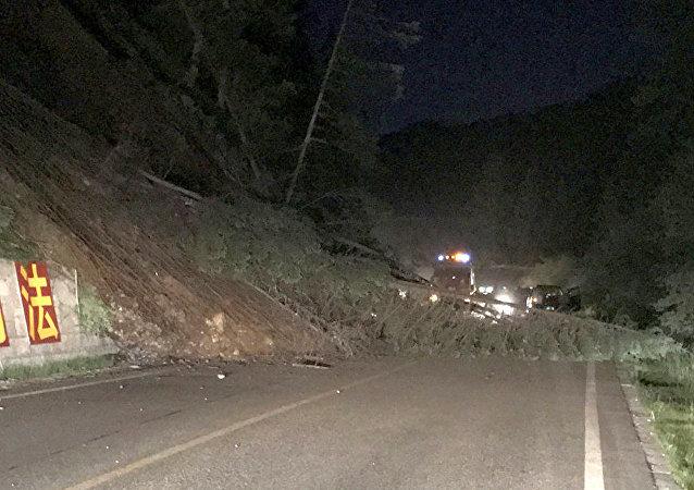 2017年8月8日,四川阿壩州發生6.5級地震