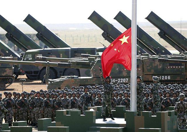 中國軍事成就正趕超美國