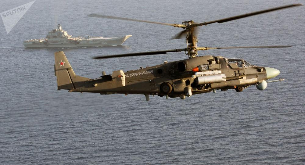 卡-52K直升機