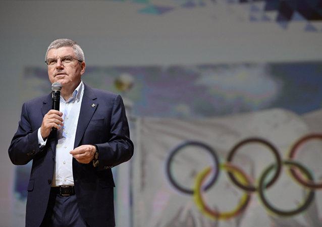 巴赫:俄羅斯國家隊參加奧運會必須通過三級篩選