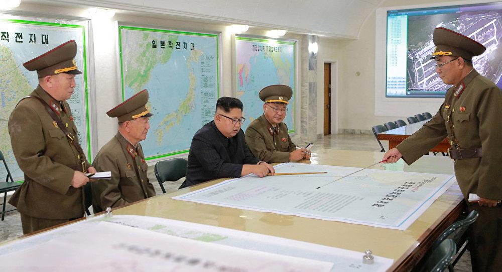 媒體:金正恩非常滿意8月2日導彈試射成果