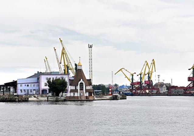 加里寧格勒海港