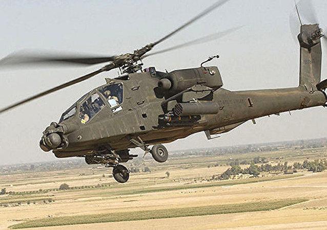 AH-64「阿帕奇」直升機