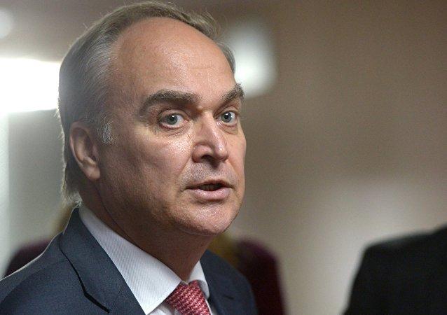 俄駐美大使檢查舊金山俄羅斯外交財產