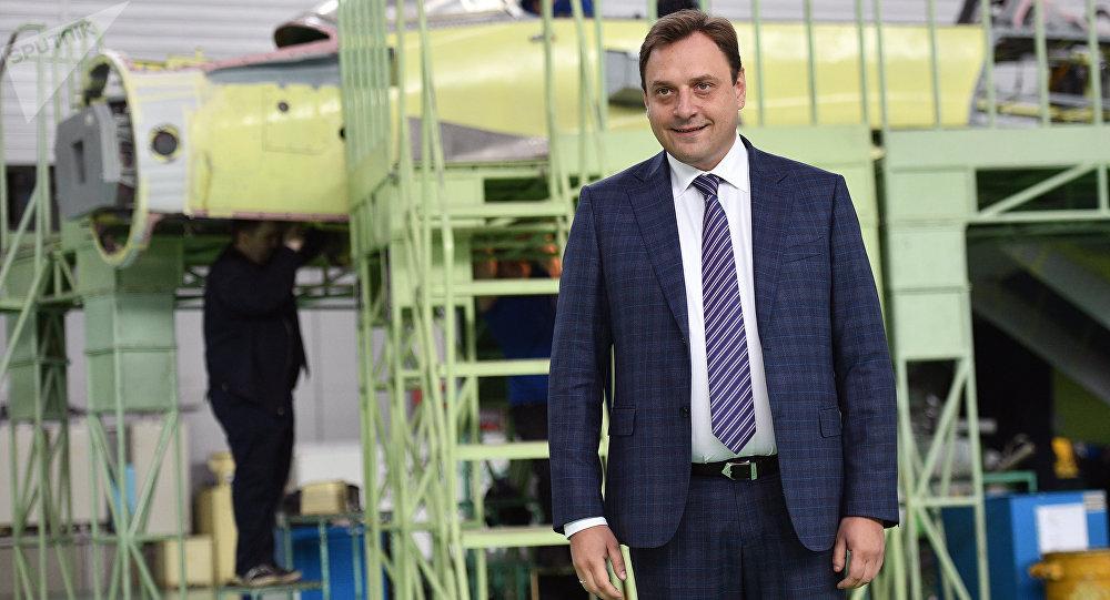 俄羅斯「米格」飛機製造集團總經理伊利亞·塔拉先科