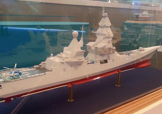 「領袖」級驅逐艦的模型