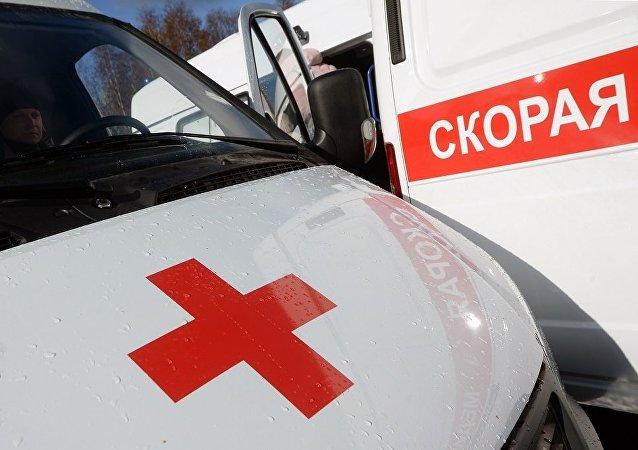 俄托木斯克市一名幼童從9層窗戶墜落後生還