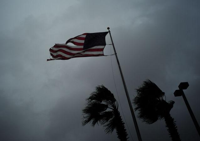 特朗普宣佈因哈維颶風得州進入自然災害狀態