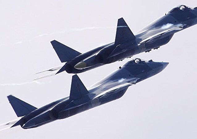 蘇-57戰鬥機