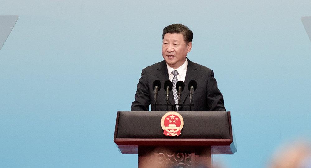 中國國家主席習近平出席開幕式併發表主旨演講