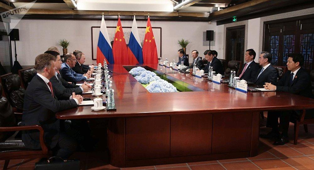 中俄一致同意堅持朝鮮半島無核化目標