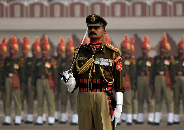 印軍軍方(資料圖片)