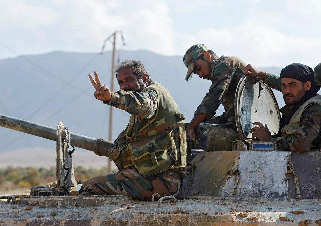 俄國防部:約92.6%敘國土從伊斯蘭國武裝分子手中解放出來