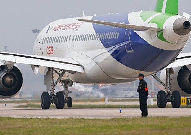 中國外長:C919大飛機多項重要研發和製造工作在江西完成