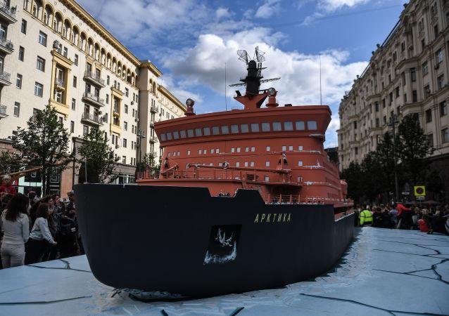 俄「北極」號核動力破冰船將於2020年開始投入使用