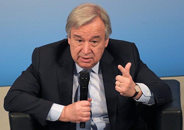 聯合國秘書長呼籲簽署新的軍控協議
