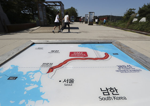 朝鮮認為促使朝韓關係取得進展的並非制裁和施壓
