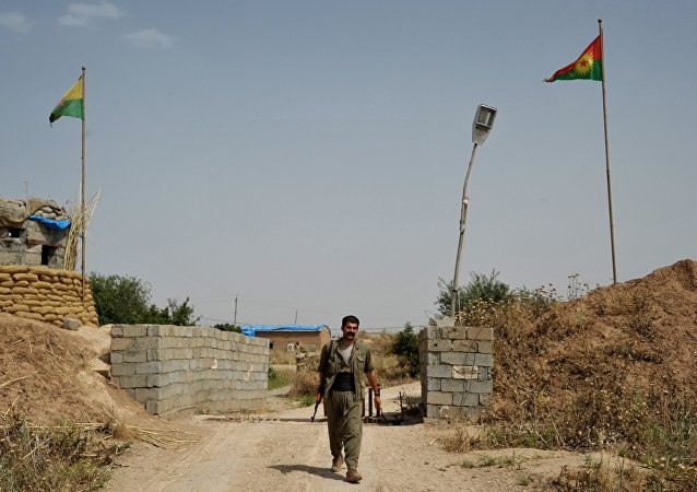 庫爾德工人黨戰士在伊拉克