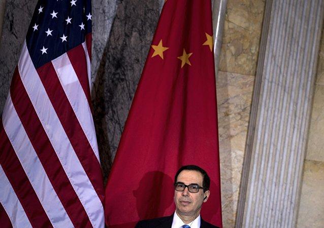美國財長姆努欽:中美貿易協議90%已就緒
