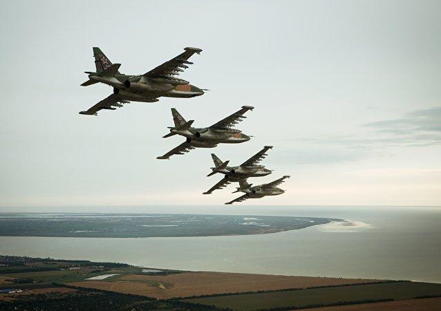 媒體:俄聯邦空天軍將在年底前列裝Su-25SM3新型轟炸機