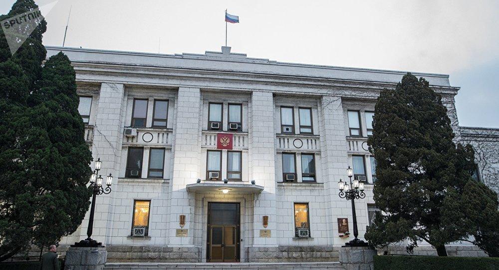 俄羅斯駐朝鮮大使館