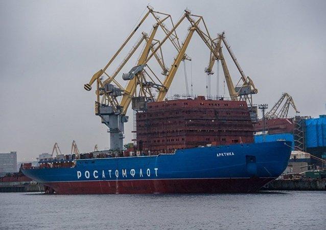 俄「北極」號核動力破冰船