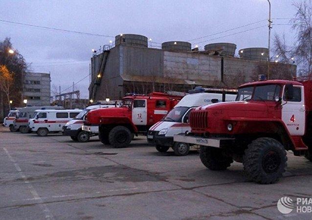 俄緊急情況部:彼爾姆邊疆區鉀鹽礦井起火 逾270名礦工被疏散