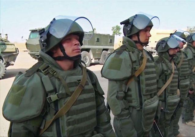 俄羅斯工程兵