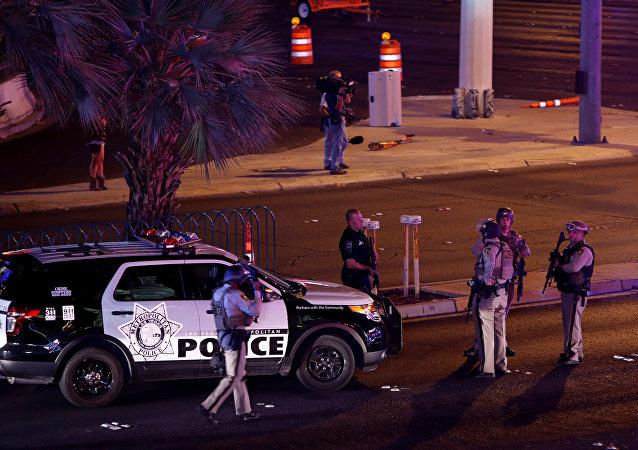 拉斯維加斯發生槍擊案