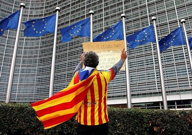 歐委會認為有關加泰羅尼亞公投的情況為西班牙內部問題