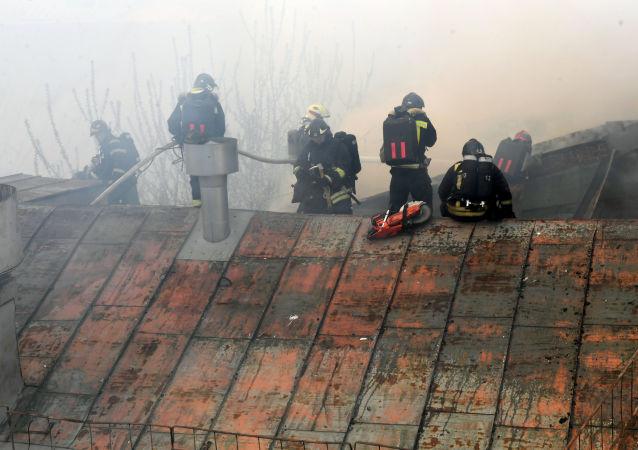 莫斯科商場火勢面積達5.5萬平方米
